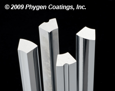 Phygen UltraEndurance™ coating offers reduced tool wear and increased punch life.