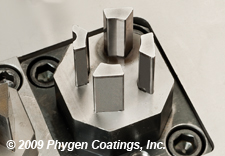 Phygen stamping tool coating offers reduced tool wear and greater productivity for punches.